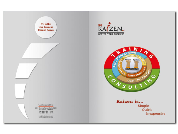 Get Kaizened Inc. Catalogue Cover